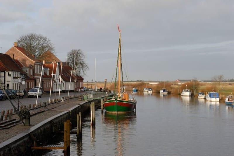 デンマーク最古の交易都市リーベ