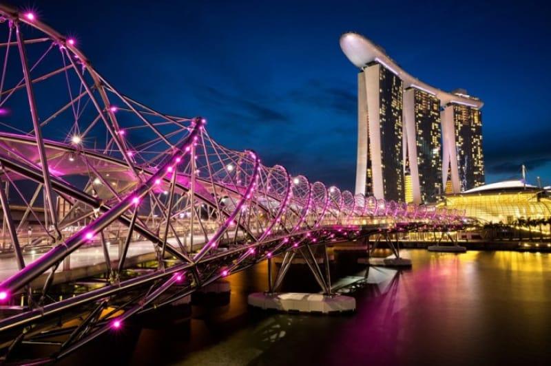 モダンチックなDNAの橋