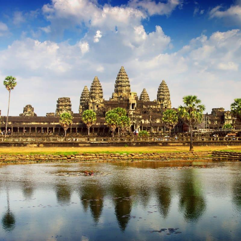 2位 カンボジア/アンコール