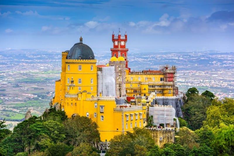 ペナ宮殿/ポルトガル