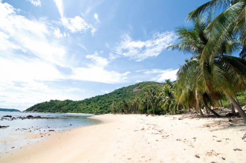 手つかずの自然を満喫、チャム島