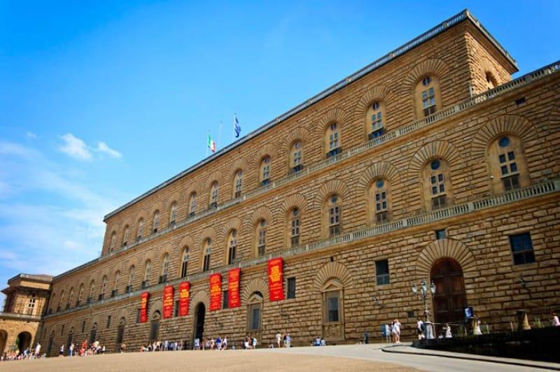 博物館や庭園を擁する「ピッティ宮殿」