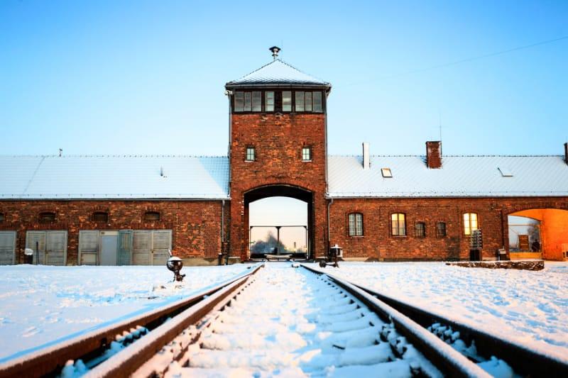 アウシュヴィッツのナチスドイツ強制収容所