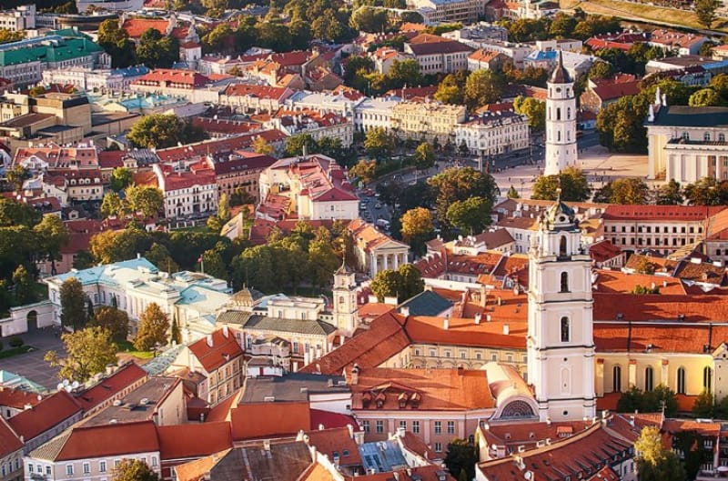 ヴィルニュスの歴史地区/リトアニア