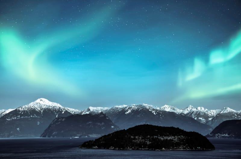 ノルウェーといえば、やっぱりオーロラ