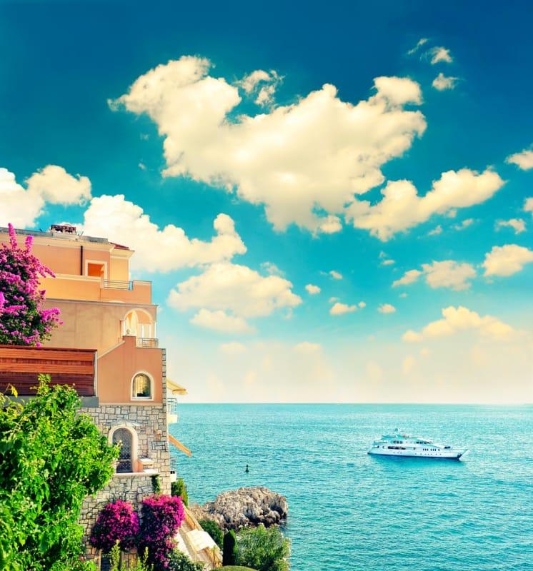 素敵な景色を眺めながらのんびりと