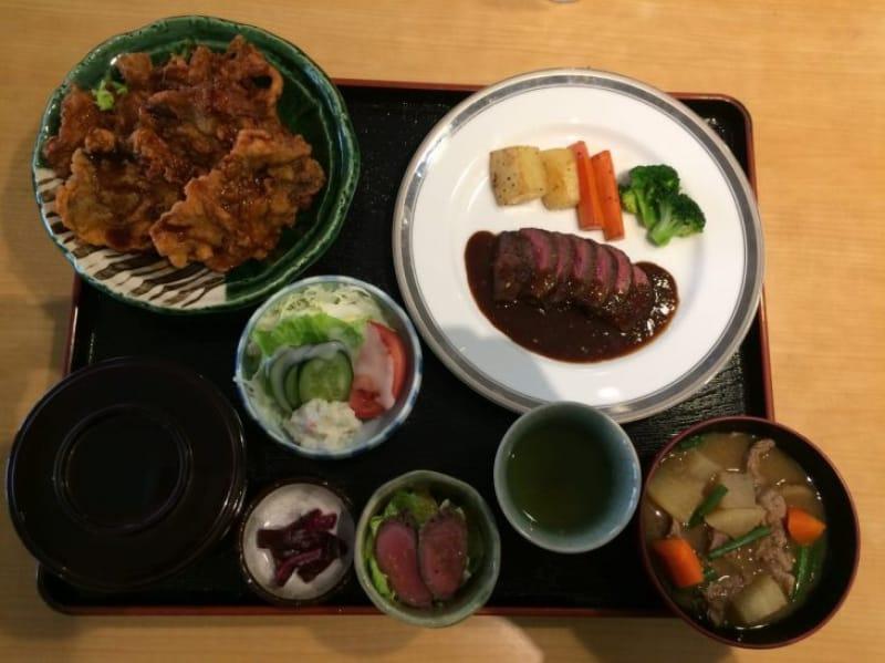 94128:オススメは鹿肉料理満載の定食「大轟」
