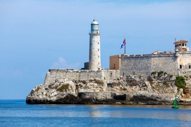 最上部からカリブ海の美しい風景が楽しめる モロ要塞