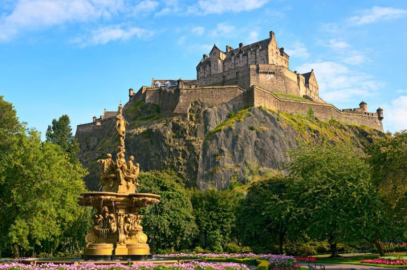 スコットランドの象徴・エジンバラ城
