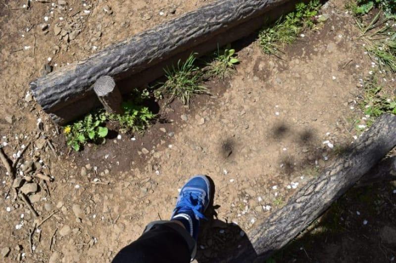 96763:登るときは歩きやすい靴で!