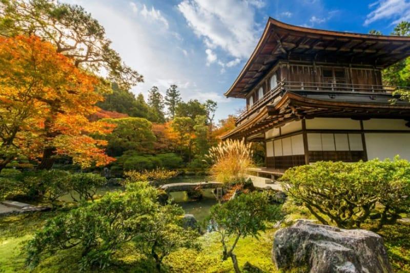 世界に誇る侘び寂びの美しさ・東山慈照寺