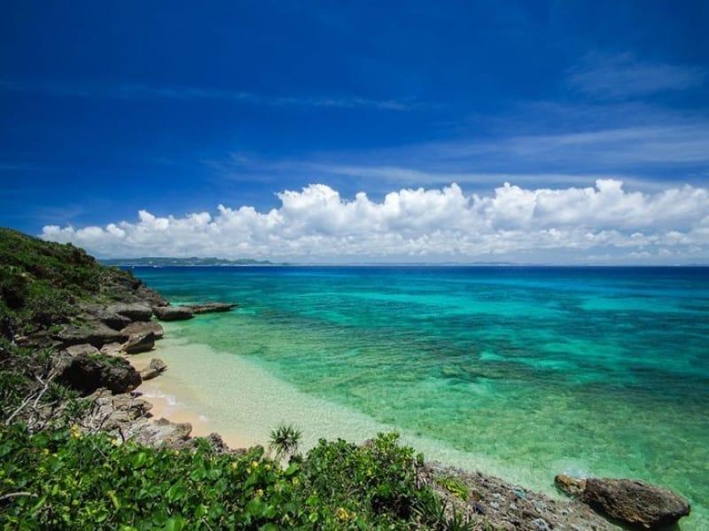 日本屈指のビーチが広がる沖縄