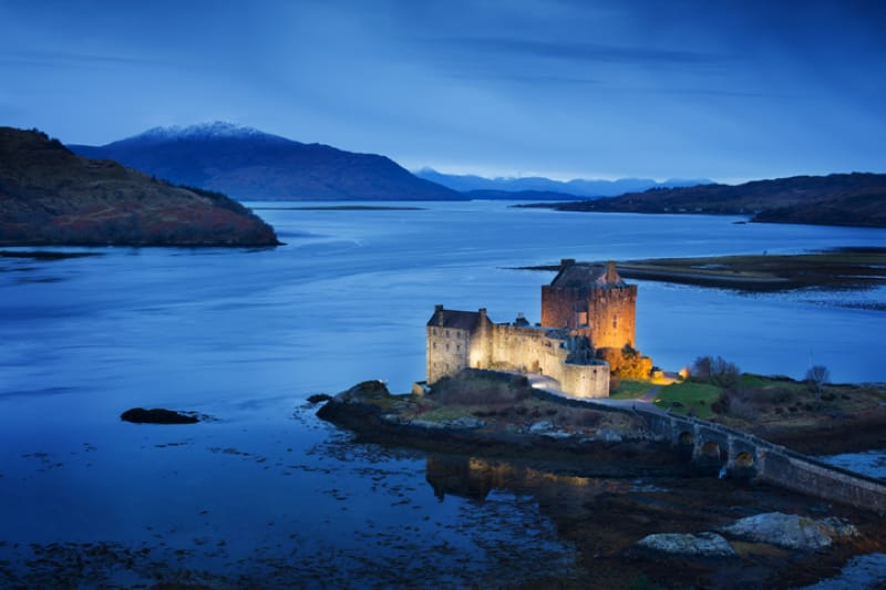 アイリーンドナン城(Eilean Donan Castle)