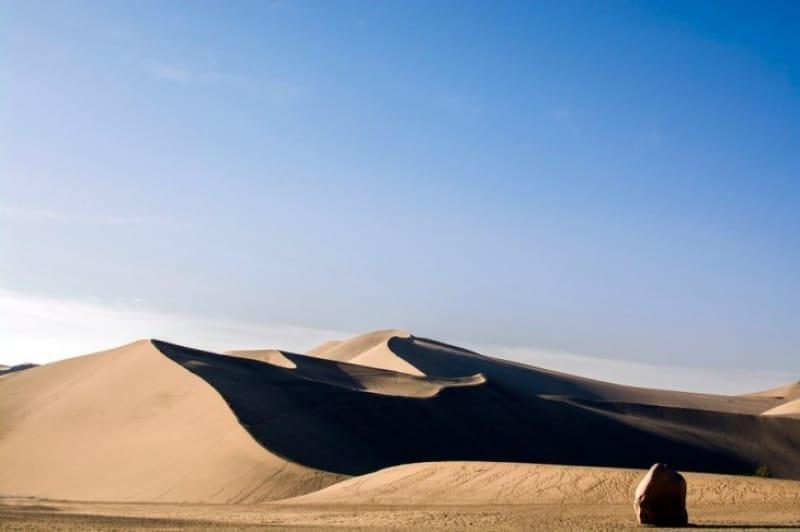 ゴビ砂漠のさまよえる『エレン湖』