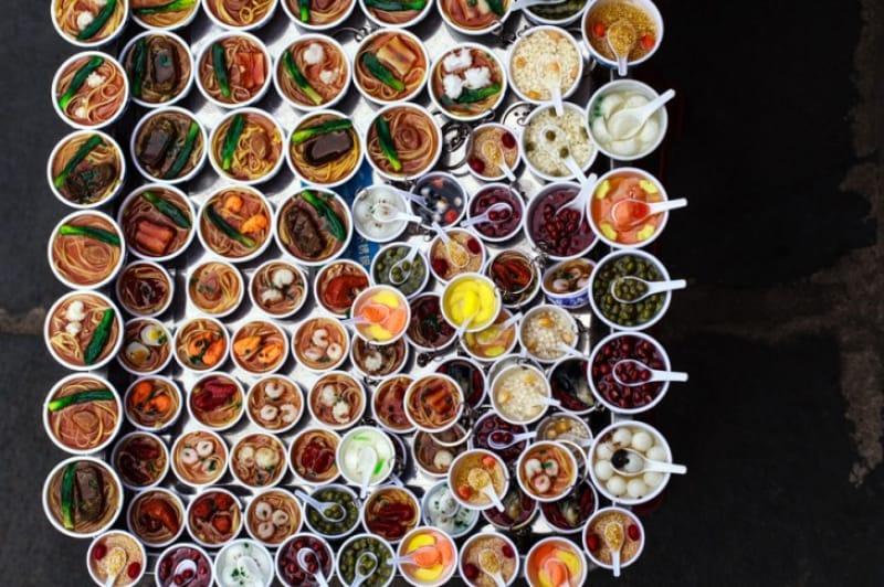 ベトナム料理のミニチュアマグネット
