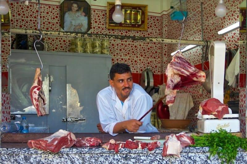 カサブランカ市民の台所 中央市場