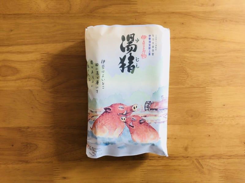 6位 文寿堂の「湯猪最中」