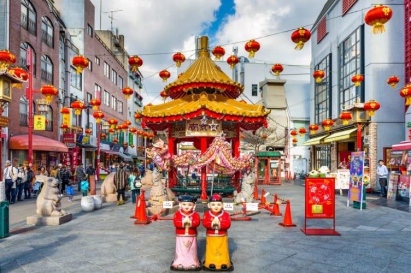 南京町で食べ歩きをしたい