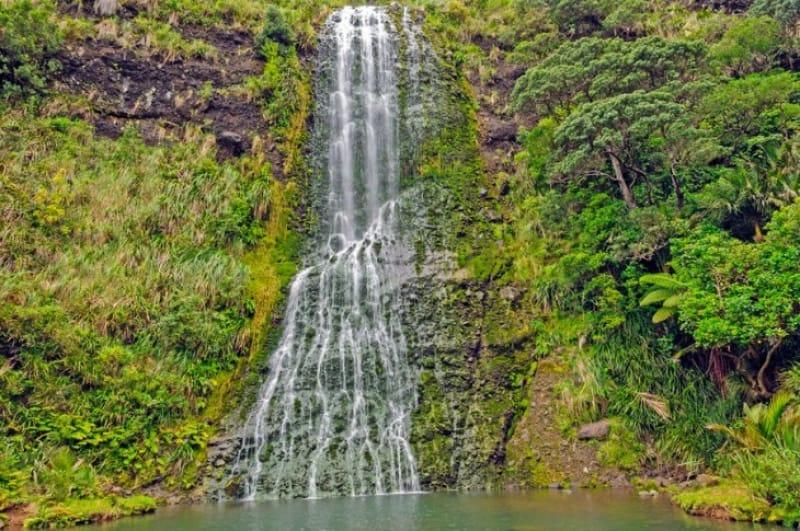 カレカレ滝へのハイキングで自然と触れ合う