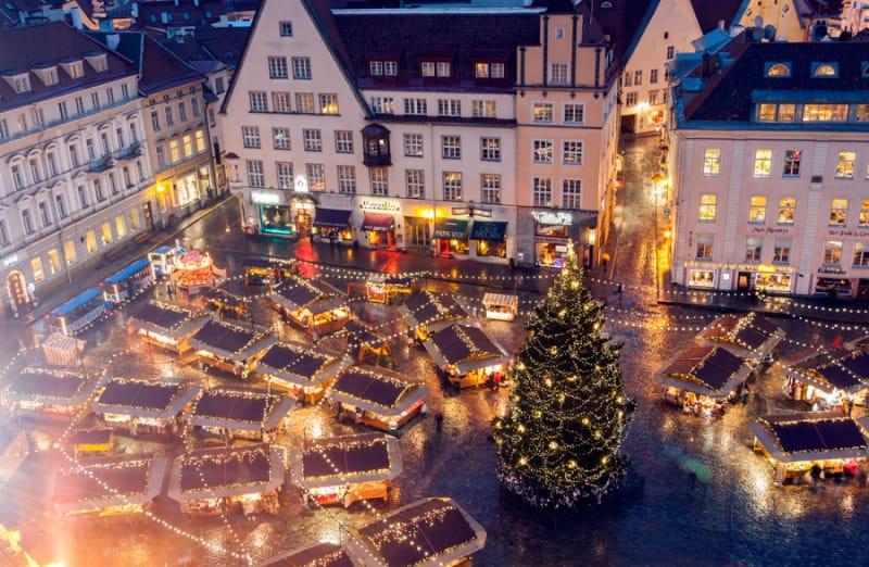 ここはおとぎの国?!盛大なクリスマスマーケット