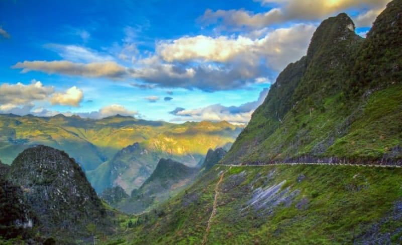 見下ろせばステキな景色、ハイバン峠