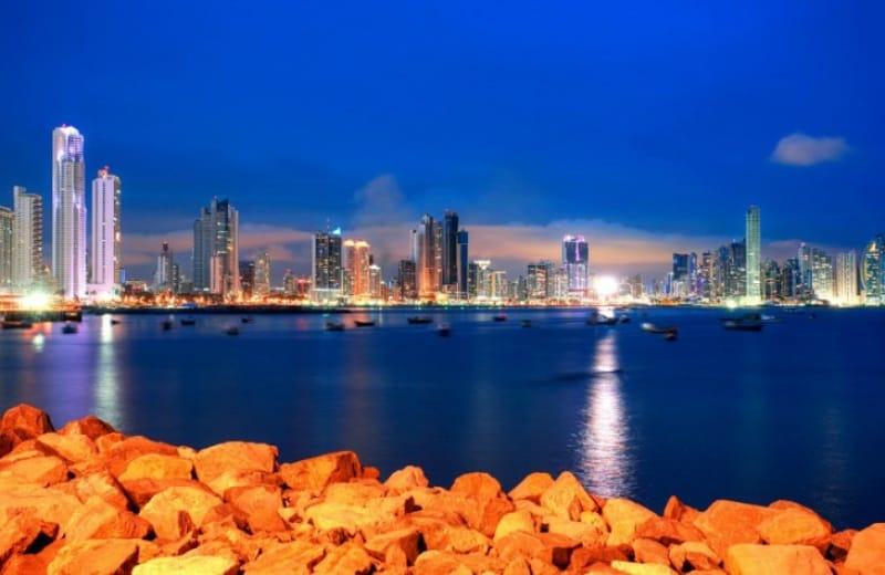 パナマシティの夜景は絶景!