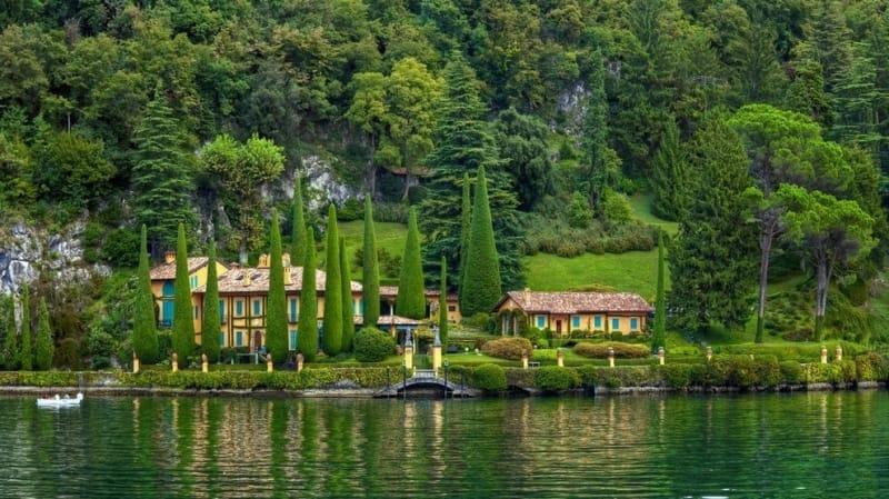 #2. コモ湖(イタリアで3番目に広い湖)