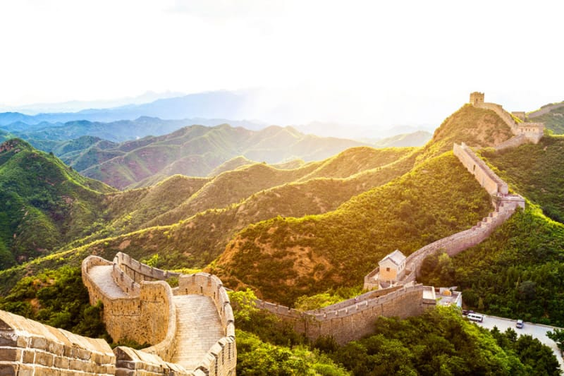 4位 中国/万里の長城