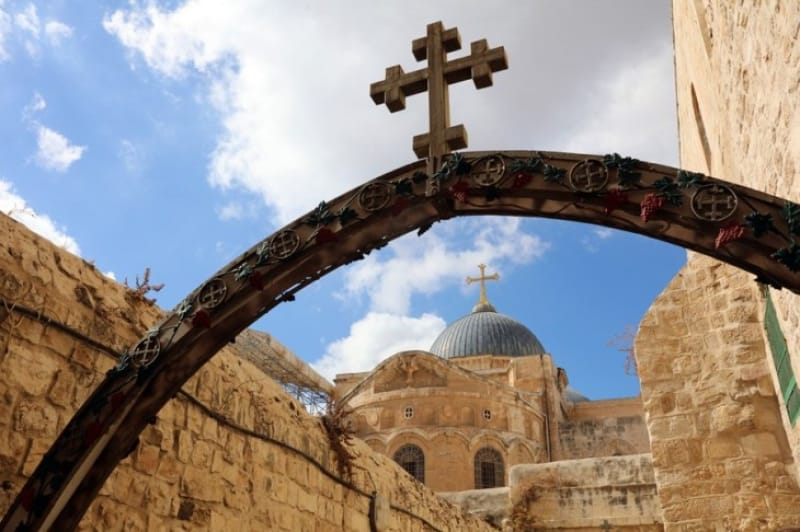 エルサレムには聖墳墓教会があります