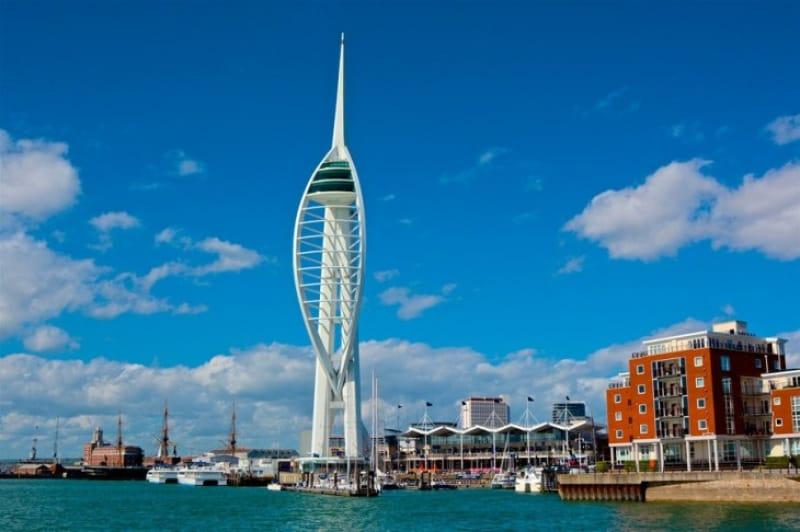 歴史的なイギリス栄光の出発点となるポーツマス