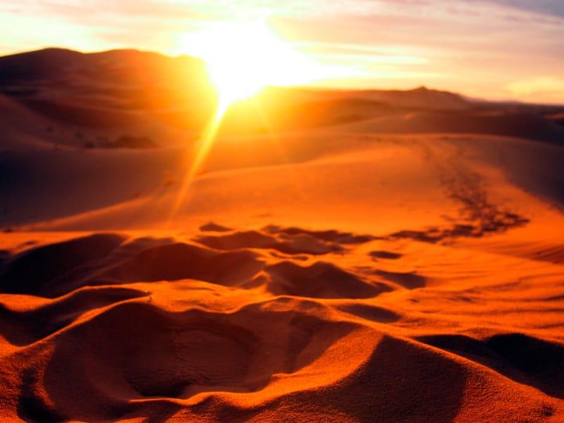 美しいイランの秘境「カビール砂漠」