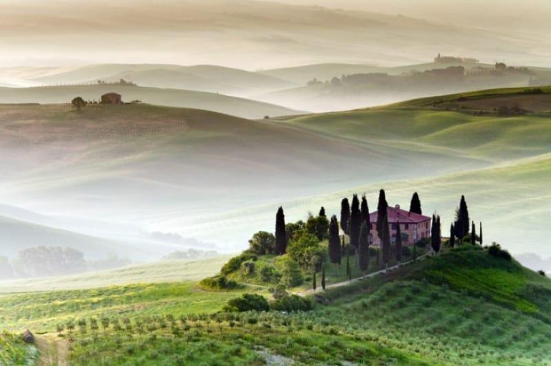 イタリアの田舎を満喫しよう!