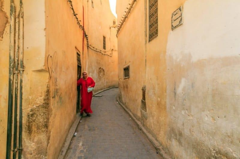 日常のカサブランカを実感できるメディナ(旧市街)