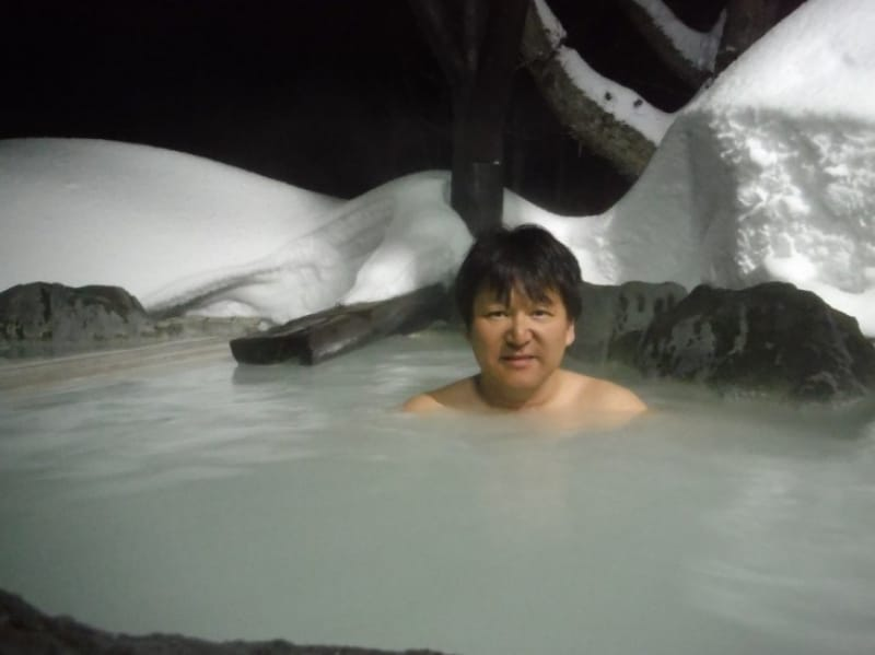93604:硫黄泉に浸る