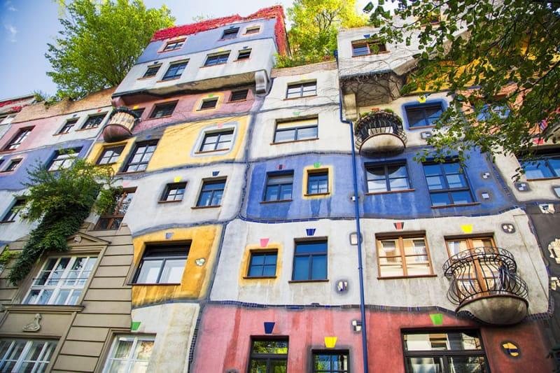 自然と共生する公共住宅