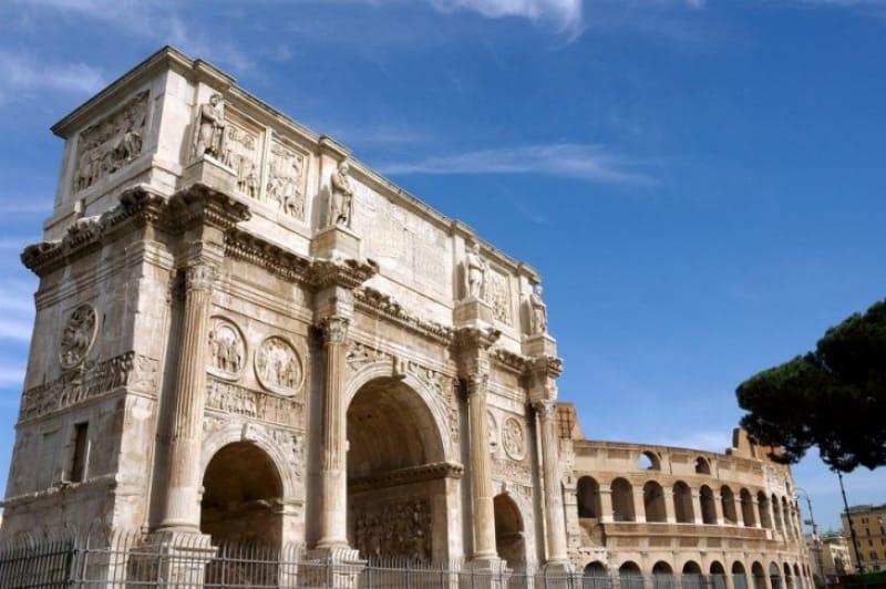 代表的なローマ建築、コンスタンティヌスの凱旋門
