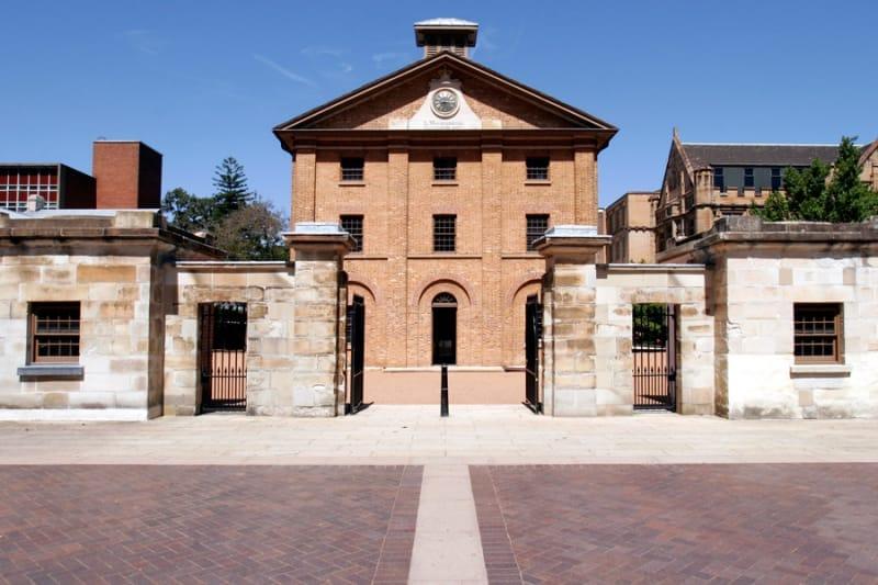 囚人が設計した建物:ハイドパーク・バラックス