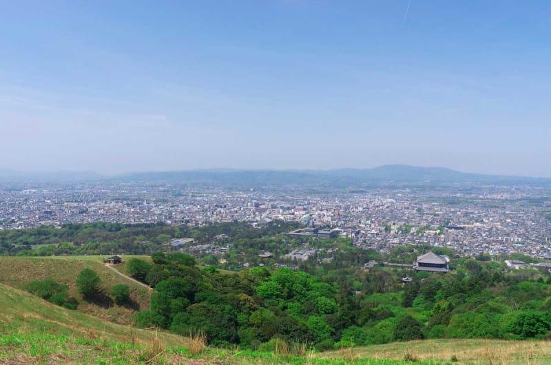 奈良の平和を祈る・若草山焼き