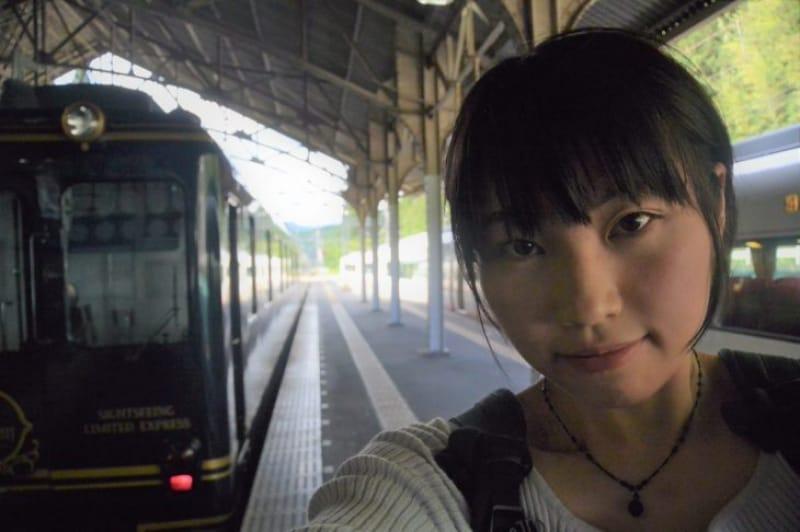 100195:ゆったり電車旅、いかがでしたか?