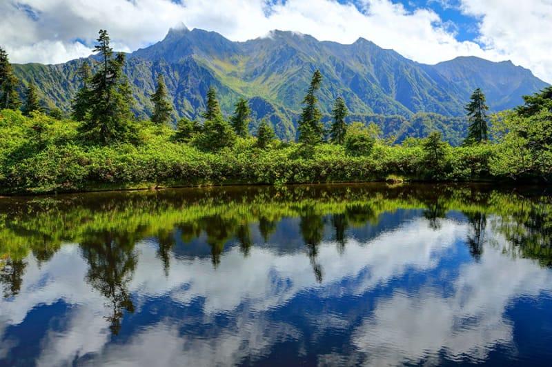 鏡平 鏡池に写る絶景は絶対おすすめ!