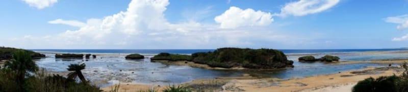 秘境の天然ビーチ