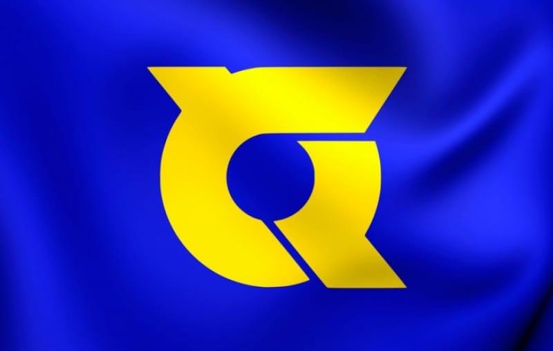 徳島の県旗