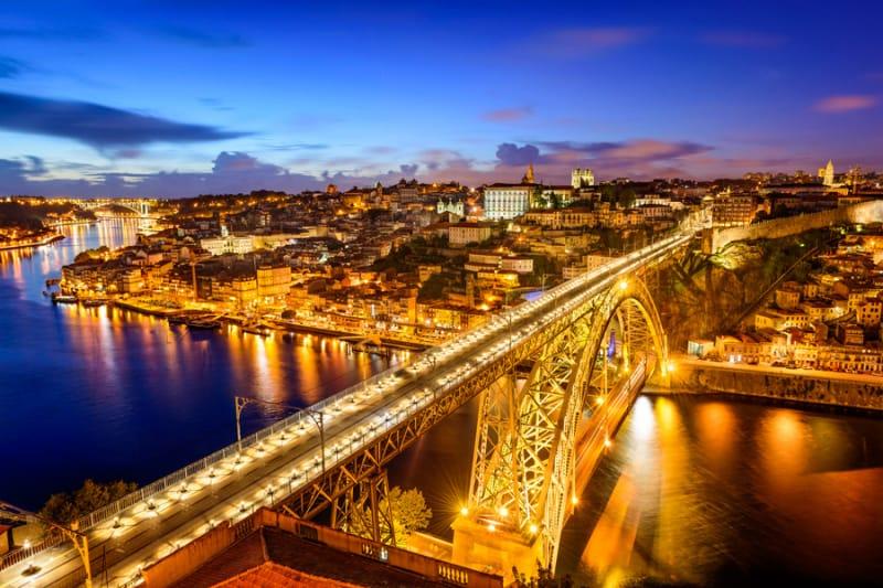 光り輝く黄金の橋、ドン・ルイス1世橋