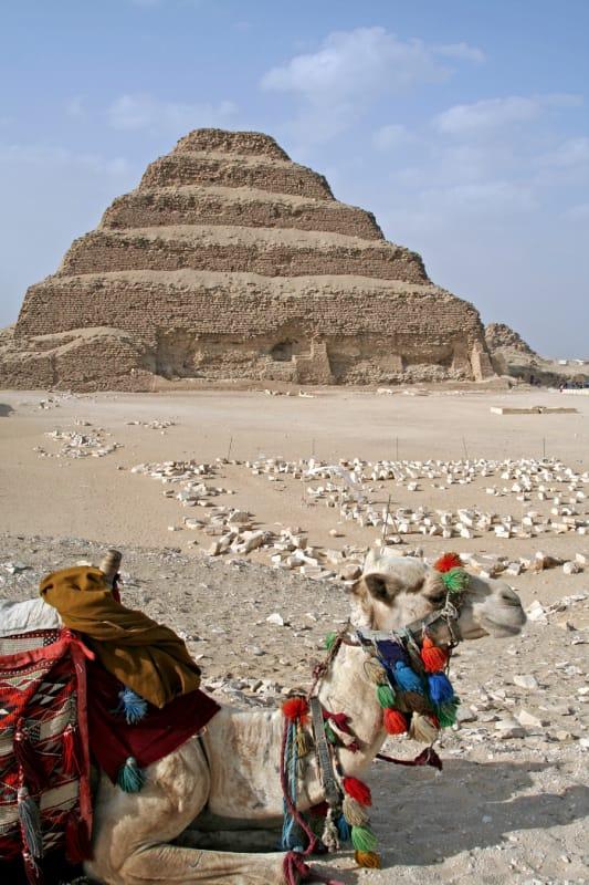 エジプト最古のピラミッド・サッカラのピラミッド
