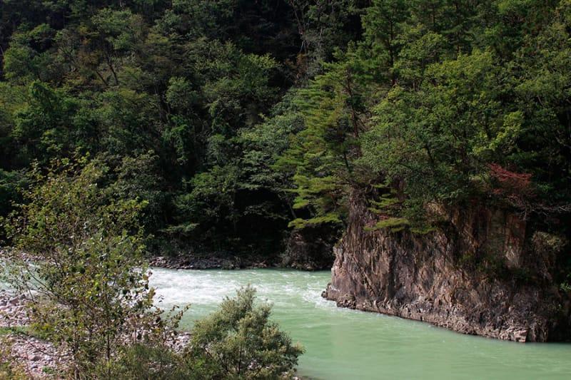 滝の清々しいパワーあふれる・小坂町の滝