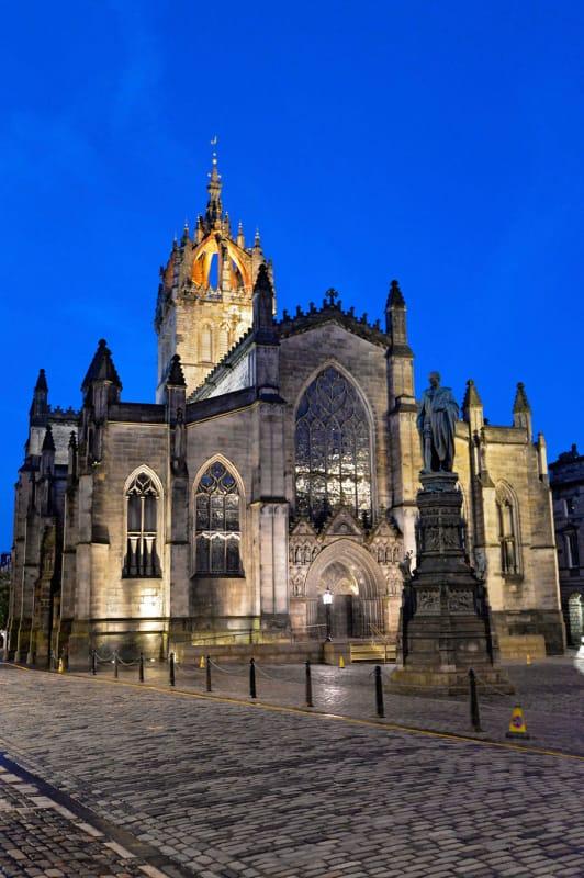 エジンバラ最高の大聖堂・セントジャイルズ大聖堂