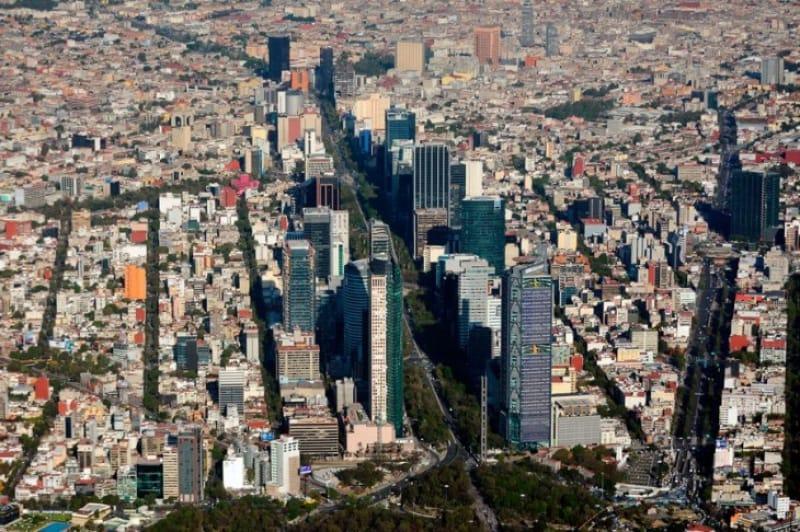 経済成長の著しいメキシコシティ