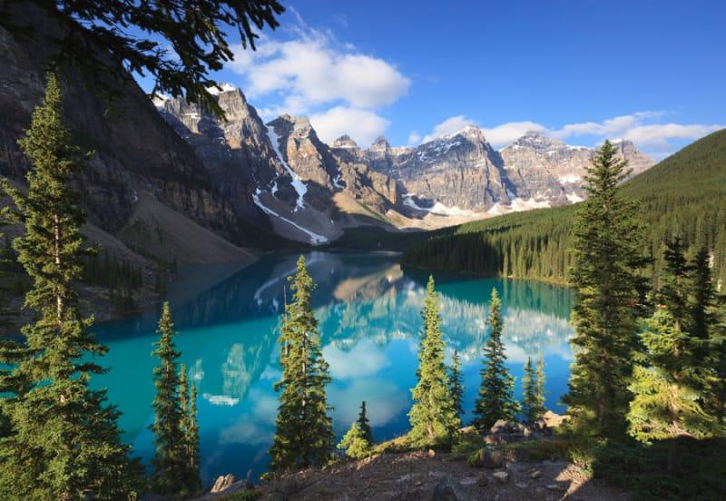 9位 カナダ/カナディアン・ロッキー山脈自然公園群