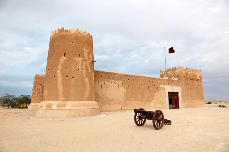 中東ならではの石造りの建物