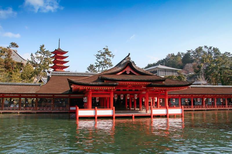 日本三景のひとつとしても有名